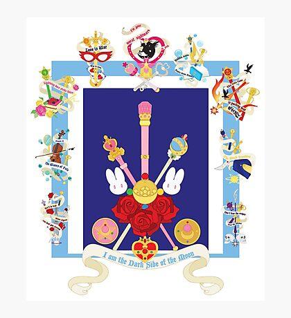 Sailor Senshi Banners 1 Photographic Print