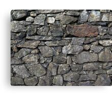 Rock Wall Canvas Print