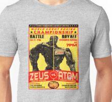 Atom vs. Zeus Unisex T-Shirt