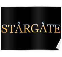 Stargate Title (Pyramid) Poster