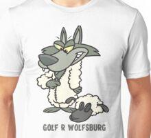 Wolfsburg Golf R, Wolf in Sheep's Clothing Unisex T-Shirt