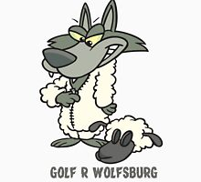 Wolfsburg Golf R, Wolf in Sheep's Clothing Unisex T-Shirt