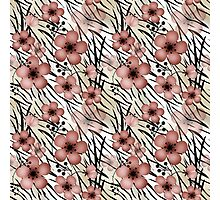 Seamless floral patterns backgrounds  Photographic Print