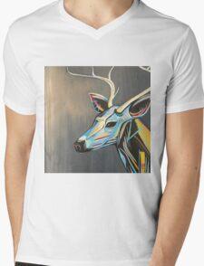 Sweet Buck Mens V-Neck T-Shirt