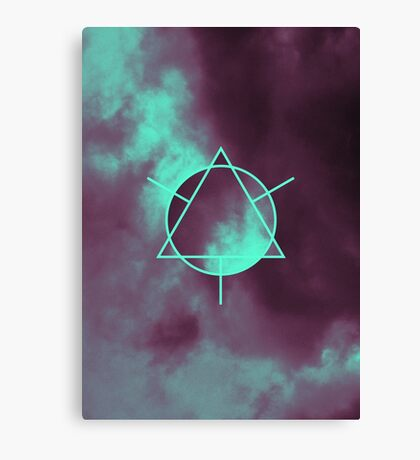 Geometry and Colors V Canvas Print