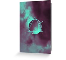Geometry and Colors V Greeting Card