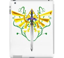 Master Sword and Triforce iPad Case/Skin