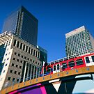Canary Wharf Commute by Jasna