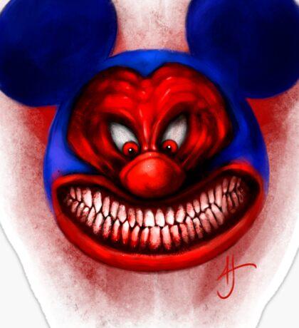 Badass Mouse Sticker