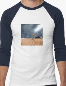left behind.... by Anne Winkler Men's Baseball ¾ T-Shirt