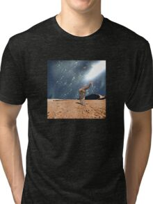 Left Behind - Anne Winkler Tri-blend T-Shirt