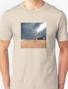 left behind.... by Anne Winkler Unisex T-Shirt