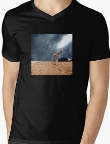 Left Behind - Anne Winkler Mens V-Neck T-Shirt