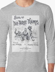 Song of The Three Tramps Long Sleeve T-Shirt