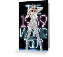 The 1989 World Tour Greeting Card