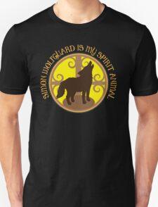 SIMON WOLFGUARD is my spirit animal Unisex T-Shirt