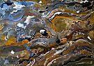 Abstract art: bark by Elizabeth Kendall