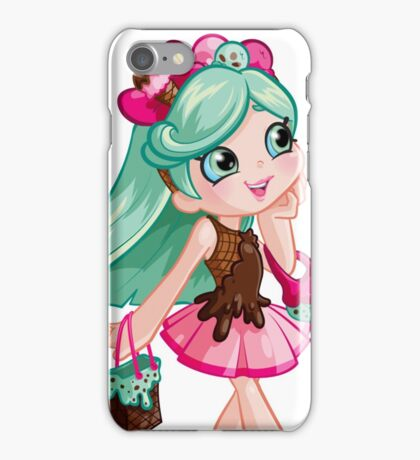Shopkins Shoppies Peppa-Mint iPhone Case/Skin
