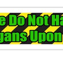 Organ Don'ter - Green Sticker