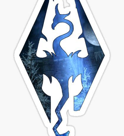 Skyrim Logo - Magic Sticker