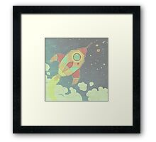 outta this world . 2 Framed Print