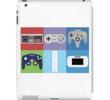 Nintendo Console Controllers iPad Case/Skin