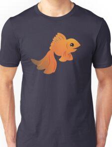 Elegant Golden pet goldfish Unisex T-Shirt