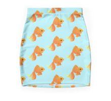 Elegant Golden pet goldfish Mini Skirt