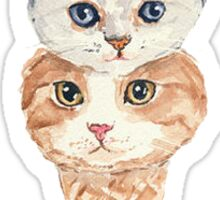 Kitten cone Sticker