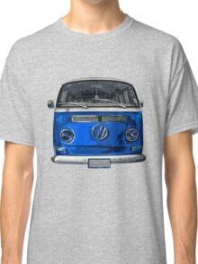 Volkswagen Blue combi cutout  Classic T-Shirt