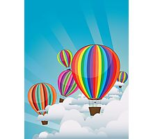 Colorful Hot Air Balloons 2 Photographic Print