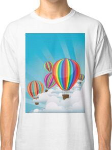 Colorful Hot Air Balloons 2 Classic T-Shirt