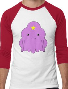 Lumpy Space Princess Men's Baseball ¾ T-Shirt