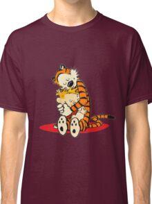 Calvin and Hobbes Hugs  Classic T-Shirt