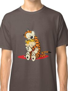 Calvin and Hobbes Hugs  Classic T-Shirt