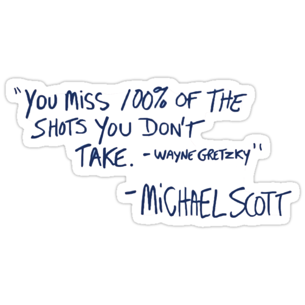 Quot The Office Quote Quot Stickers By Lindsaycarpluk Redbubble