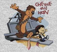 Calvin And Hobbes Parody Kids Tee