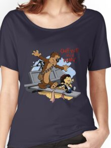 Calvin And Hobbes Parody Women's Relaxed Fit T-Shirt
