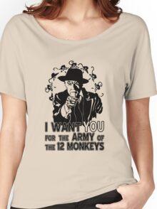 12 Monkeys: Pallid Man Wants You Women's Relaxed Fit T-Shirt