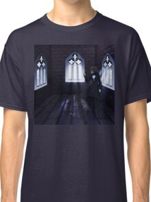 Haunted Interior and Ghost 4 Classic T-Shirt