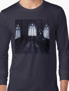 Haunted Interior and Ghost 4 Long Sleeve T-Shirt