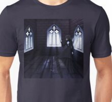 Haunted Interior and Ghost 4 Unisex T-Shirt