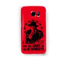 12 Monkeys: Pallid Man Wants You Samsung Galaxy Case/Skin