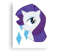 MLP: Rarity Canvas Print