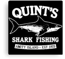 Quint's Shark Canvas Print