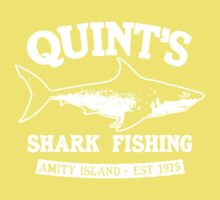 Quint's Shark Kids Tee