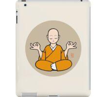 Zensei Zazen  (orange)  iPad Case/Skin