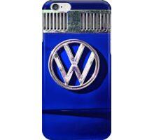 VW BLUE iPhone Case/Skin