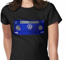 VW BLUE Womens Fitted T-Shirt