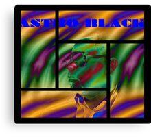 Astro Black - Official Merchandise Canvas Print
